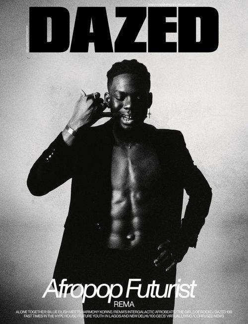Dazed Front Cover - 2020